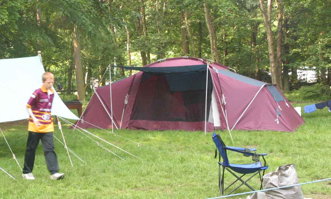 Khyam 10-berth QuickErect tent ... & 9th Huddersfield Scout Group